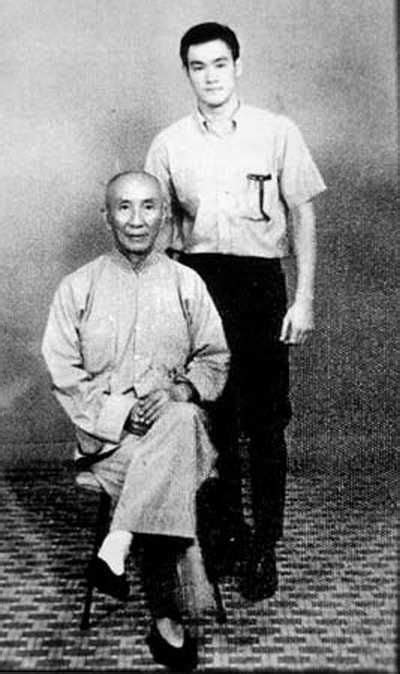 bruce lee biography history channel the wing chun grandmaster with his famous student