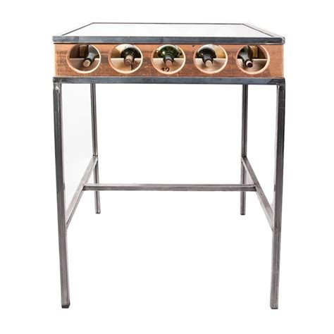 wine rack bar table by michael graham designs upcycledzine