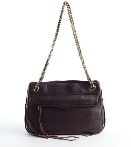 rebecca minkoff swing bag black rebecca minkoff cherry leather swing chain strap crossbody