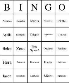printable greek alphabet bingo cards 1000 images about greek mythology on pinterest greek