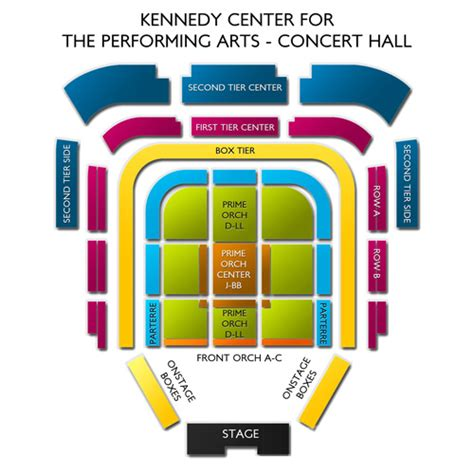 House Layout Program by Kennedy Center Concert Hall Seating Chart Vivid Seats