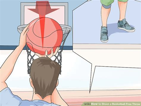 how to shoo your couch how to shoot a basketball free throw 14 steps with pictures