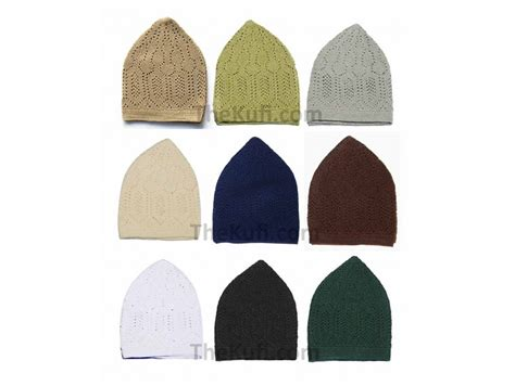 Peci Beanie Topi Peci set of 9 small turkish muslim islamic kufi hats taqiya takke peci skull caps hx q3h2 nkr4