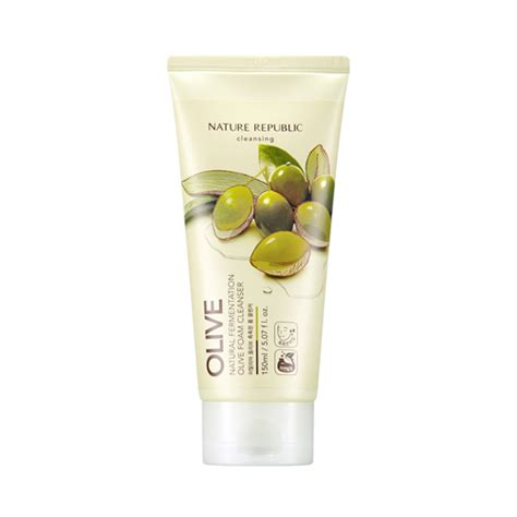 Chic Republic Detox Wash by Nature Republic Fermentation Olive Foam Cleanser