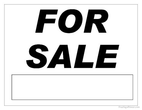 18 best for sale signs images on pinterest sale signs