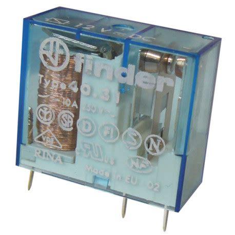 relais electrique finder  cc serie  vdc