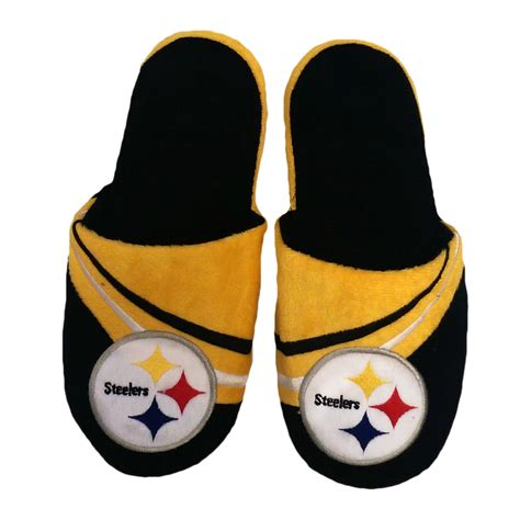steelers house shoes steelers slippers for 28 images s pittsburgh steelers flannel slide slippers