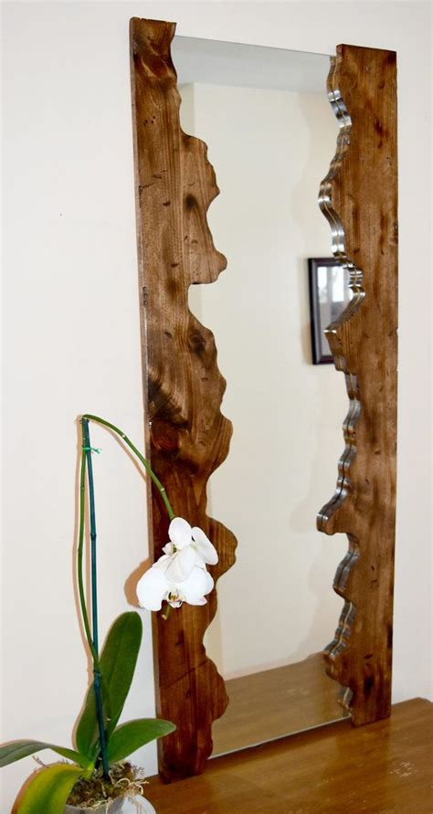 wood frame mirror for bathroom 25 best wood mirror ideas on pinterest circular mirror wood furniture and wood design