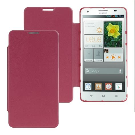 Huawei Ascend P2 Flipcase Flipcover Leather Flip Cover Casing kwmobile flip cover for huawei ascend g750 leather