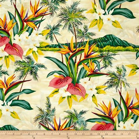 tropical print upholstery fabric 25 best ideas about hawaiian print fabric on pinterest