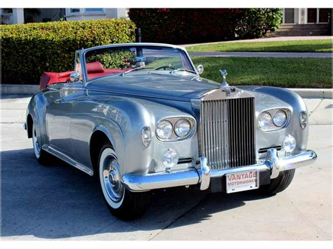 antique rolls royce 1963 rolls royce silver cloud iii for sale classiccars