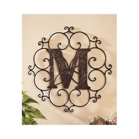 large decorative letters for walls large metal letter wall decorative medallion alphabet