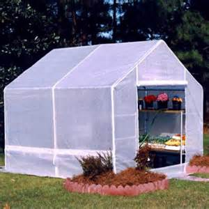 Greenhouse Canopy by King Canopy Galvanized Frame Backyard Greenhouse Walmart Com