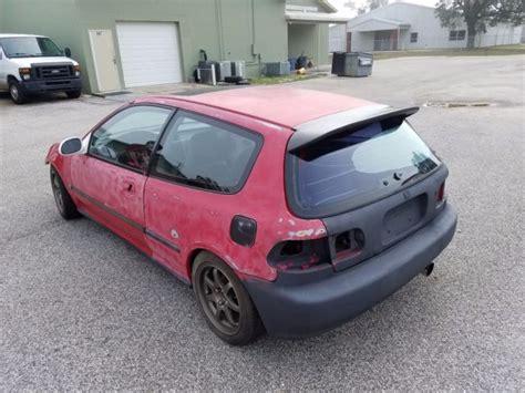 1993 honda civic si hatchback 3 door 1 6l roller