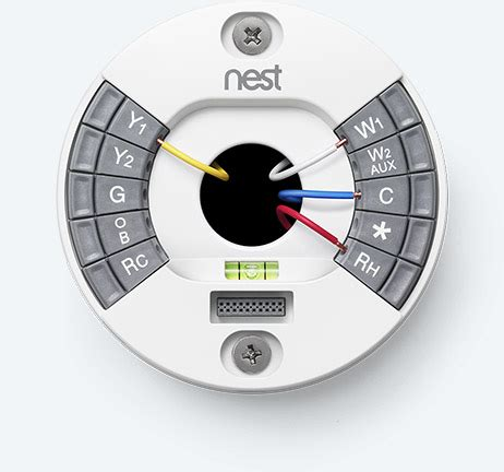 nest thermostat wiring