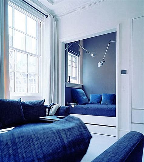 Blue And Brown Bedrooms 12 cool alcove beds
