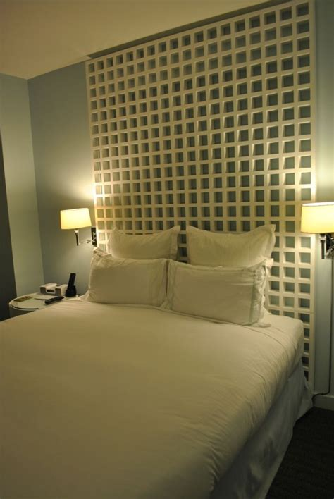 hotel headboards hotel headboard chunky lattice headboard can probably