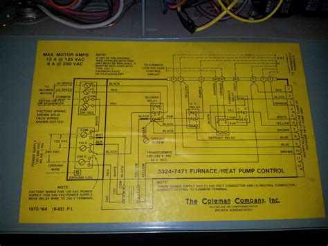 coleman heat thermostat wiring diagram efcaviation