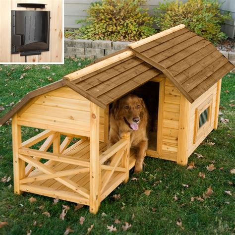 boomer george barn dog house  heater dog houses