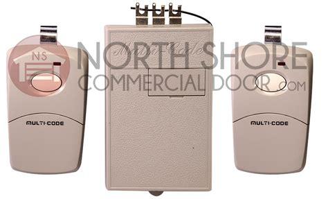 Garage Door Opener Transmitter by Multi Code 2022 Radio Receiver And Transmitter Set