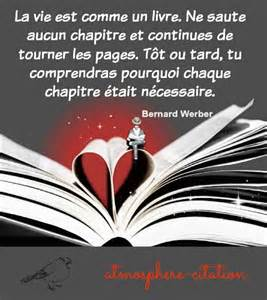 citations proverbes sur bernard werber atmosph 232 re citation