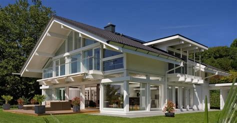 prefabricated luxury homes huf haus prefabricated luxury home 3 luxatic