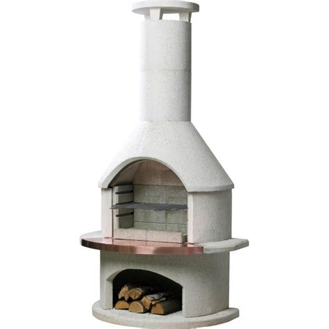 Buschbeck Rondo BBQ Fireplace   Turfrey Outdoor BBQs