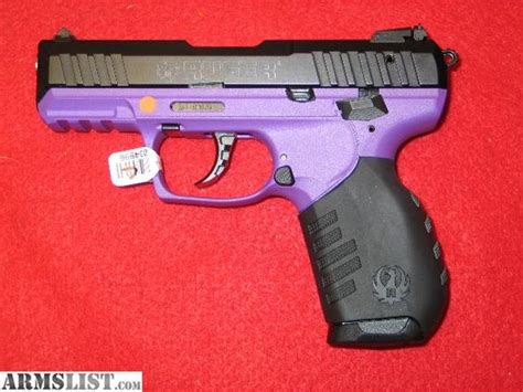 ruger sr22 colors purple handguns for sale ruger sr22 p quot purple quot 22lr