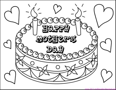 happy mothers day coloring page wallpaper free happy mothers day coloring pages
