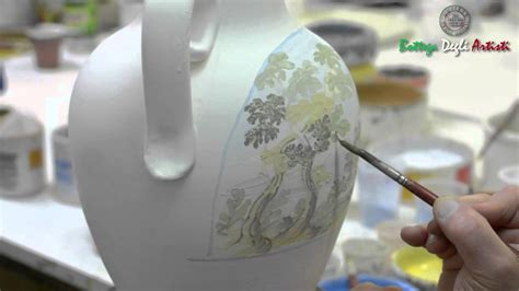dipingere vasi terracotta dipingere un vaso