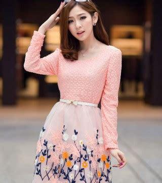 Promo Dress Korea Motif Lengan Panjang Import Belt Limited Edition mini dress motif bunga cantik terbaru model terbaru