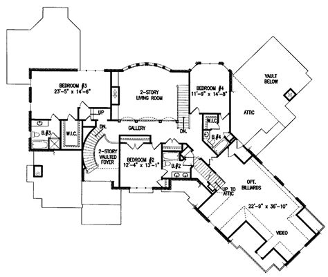 home plan homepw12686 4376 square foot 4 bedroom 4 301 moved permanently