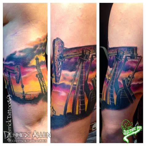 electric needle tattoo orlando derricktattoo863 done with electric ink and pride tattoo