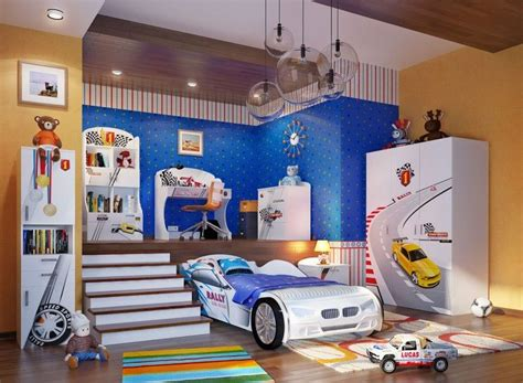 Chambre Garcons by D 233 Co Chambre Gar 231 On 27 Id 233 Es Originales Th 232 Me Voiture
