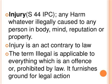 section 44 ipc blunt force injuries