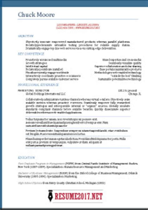 combination resume format 2017 resume format 2017 16 free to word templates