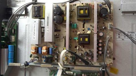 samsung plasma tv hpt4254 capacitor problems hpt4254 samsung plasma power supply repair clicking