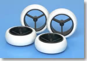 Large Dia Narrow 5 Spoke White Black gp414 narrow large dia wheel white arched tires for