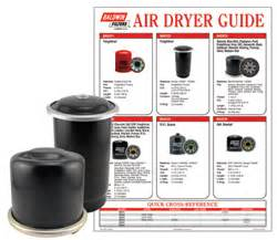 Brake System Air Dryer Filter Maintenance Baldwin Filters Product Highlights