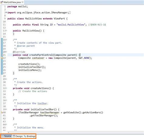 tutorial java windowbuilder eclipse interface graphique plugin