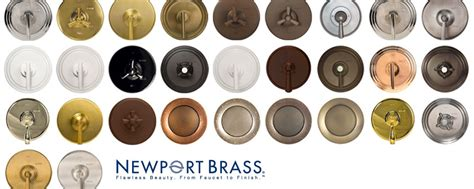 bathroom fixture finishes newport brass offers extensive finish options for unmatched design possibilities
