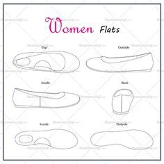 insole template technicaldrawings png 650 215 375 shoe