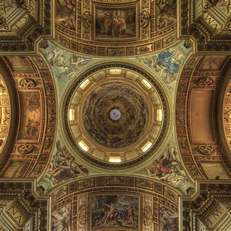 baroque ceiling sant andrea della valle ceiling details rome ceilings