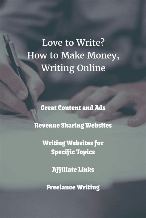 Make Money Writing Online - make money writing online freelance income seekyt
