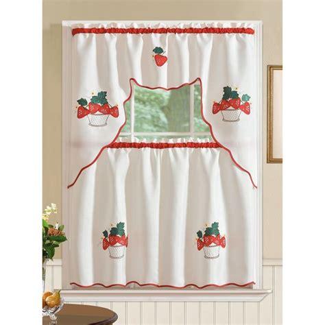 red kitchen curtain sets best 25 kitchen curtain sets ideas on pinterest kitchen