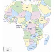 &193frica  Mapa Gratuito Mudo En Blanco