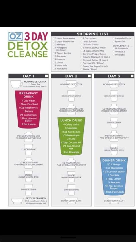3 Day Soup Detox Plan by 17 Best Images About Detox Cleanse On Juice