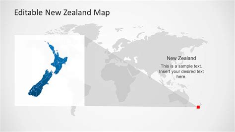 new template for powerpoint editable new zealand map powerpoint template slidemodel