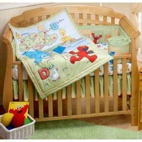 Amazon Com Sesame Street Park 4 Piece Crib Bedding Set Sesame Crib Bedding Sets
