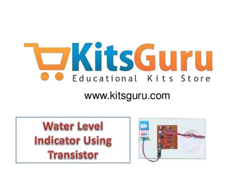 transistor user level water level indicator using transistor electronics project kitsgu